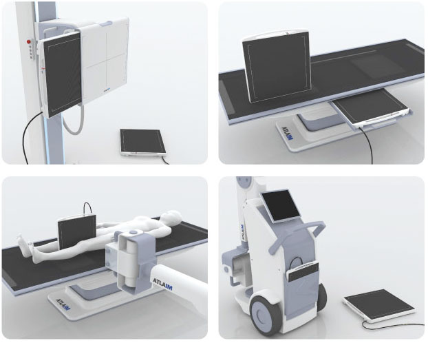 Digital X-ray Detector with Software